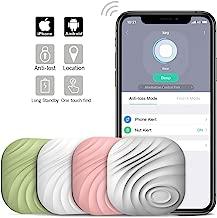 Nut3 Smart Key Finder Bluetooth WiFi Tracker GPS Locator Wallet Phone Key Anti-Lost Bidirectional Alarm Reminder (4 Packs, Multicolor)