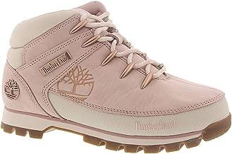Timberland Euro Hiker Mid Women's Boot 6 B(M) US Light Pink