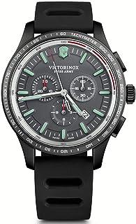 Victorinox - Alliance Reloj para Hombre Analógico de Cuarzo con Brazalete de Goma V241818