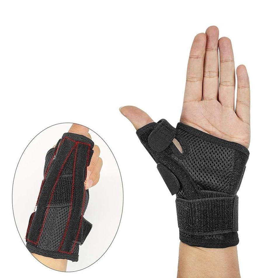 開発時間とともに靴下FENJZ 回復親指ブレース両手利きスプリントのために関節炎腱鞘炎骨折両手手首の親指スタビライザーイモビライザーひずみ (Color : Single Piece)