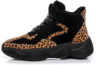 Women's Sneakers Spring & Fall Suede High-Top Casual Shoes Athletic Shoes Running Hiking Shoes Fitness & Cross Training Shoes,A,38