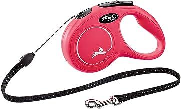 フレキシ (flexi) ニュークラシック コード S(12kg未満) 5m レッド [犬用リード]