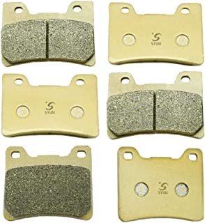 SYUU Motorcycle Replacement Front and Rear Brake Pads Brakes for Yamaha TDM 850 (1996-2001) FJ1200 (1991-1995) VMX 12 VMax (93-07) FA160F FA088R
