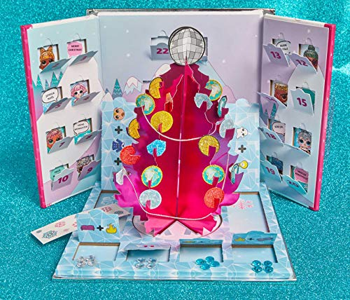 L.O.L. Surprise! Bling-A-Tree Advent Calendar: | L.O.L. Gifts for Girls Aged 6+ | LOL Surprise | Trim a Tree | Craft Kit | 25+ Surprises