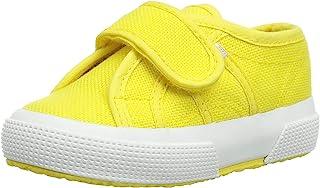 Superga Unisex Kids' 2750-bstrap Gymnastics Shoes, Yellow (Sunflower), 4 UK Child