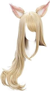 DAZCOS K/DA Cosplay Wig 2018 New Sytle (Blond)
