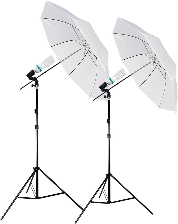 High quality new Julius Studio Set Max 74% OFF of 2 Umbrella White L Professional Reflector