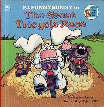 P.J. Funnybunny in the Great Tricycle Race (Look-Looks) - Book #4 of the P.J. Funnybunny