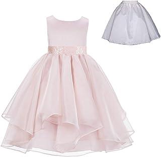 5749dfdc27b ekidsbridal Wedding Ruffles Organza Flower Girl Dress Sequin Toddler  Pageant Free Petticoat 012s