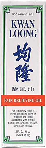 2021 Kwan Loong sale Pain Relieving Medicated Oil, 2 oz. – Muscle Relief Menthol Oil – Recommended for Back Pain, new arrival Arthritis, Shoulders, Knee, Joint Discomfort, & Neck Pain – Sore Muscle Massage Oil online