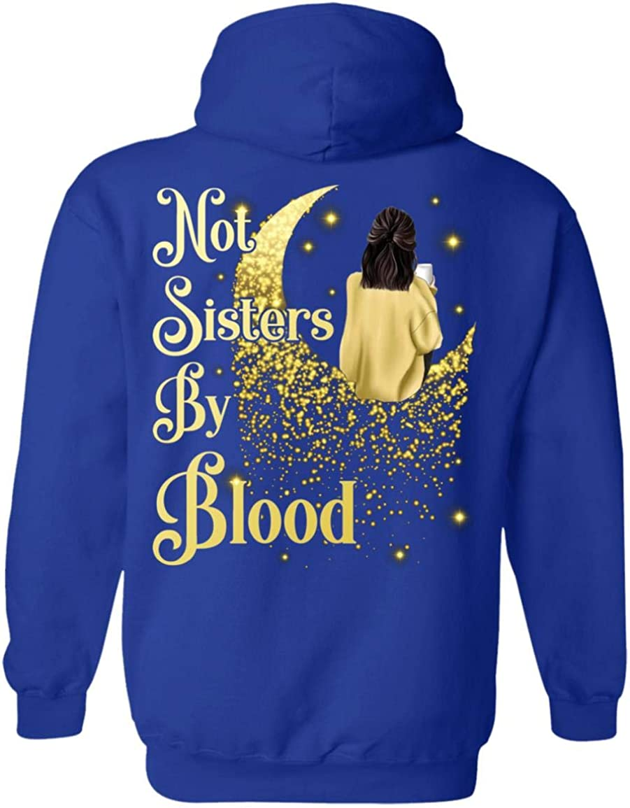 Not Sisters by Blood But Matching Back On 定番から日本未入荷 Heart 人気急上昇 Print