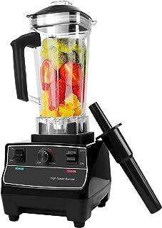 Blender Smoothie 2000W Professionnel, Smoothie Maker Blender Puissant Multifonction avec 6 Lames en Acier, 2L Jarre, 26000...