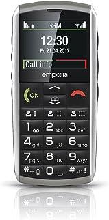 """Emporia Classic, V26_001_2G Telefon Komórkowy, 2"""", Srebrny"""