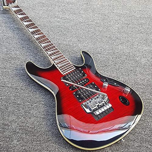 MLKJSYBA Guitarra Diapasón De Palisandro De Guitarra Eléctrica con Inlay Triangular Guitarra Clásica Guitarras acústicas (Color : Guitar, Size : 41 Inches)