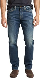 Silver Jeans Co. Men's Machray Classic Fit Straight Leg Jeans