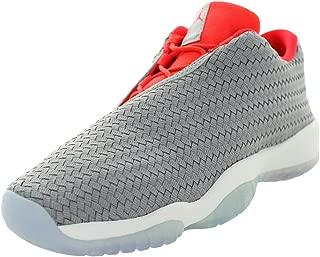 Jordan Kid's Air Future Low BG, Wolf Grey/Infrared 23-White, Youth Size 6
