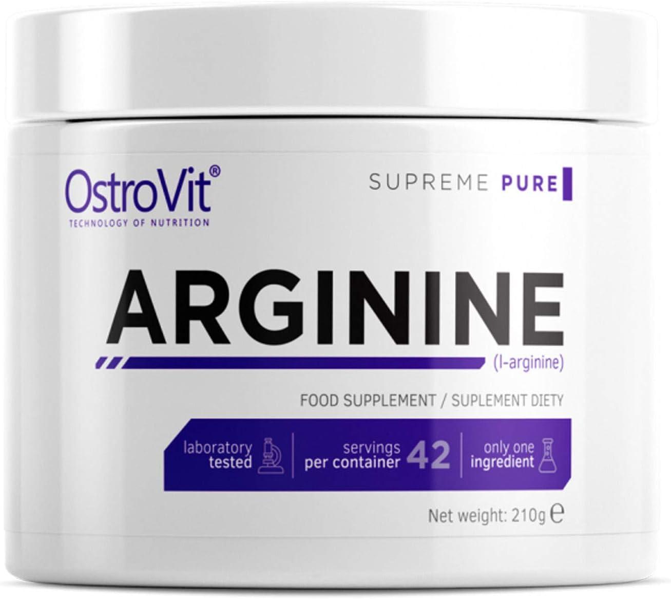 Luxury ARGININE 210g - Pure Unflavored Superior Nitric Pharmaceutical Grade