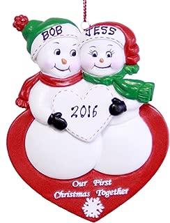 Best snowman couple ornament Reviews