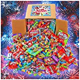 Assorted Candy Party Mix, 7.5 LB Bulk Box - Holiday Candy Bulk - Fun Size Skittles, Top Box Pop Taffy Pops, Fun Dip, and Much More!