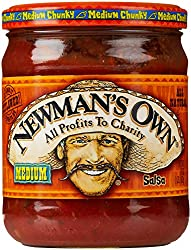 Newman's Own Salsa, Medium Chunky, 16 Oz