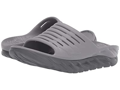 Hoka One One Ora Recovery Slide 2 (Frost Gray/Dark Gull Gray) Men