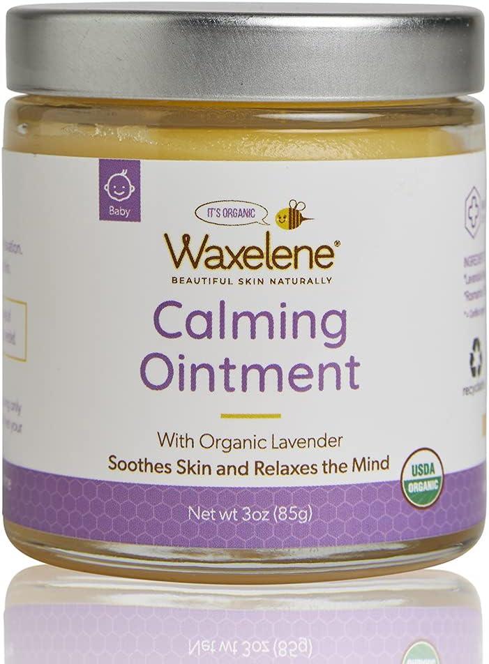 Waxelene Discount mail order Calming Ointment Organic High material Hilaria Lavender Baldwin Sig