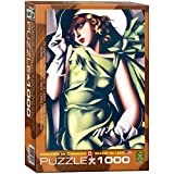 Eurographics Young Girl in Green by Tamara De Lempicka Puzzle (1000 Pieces) by Eurographics