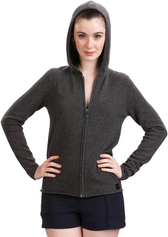 Citizen Cashmere Zip Hoodies for Women  100% Cashmere