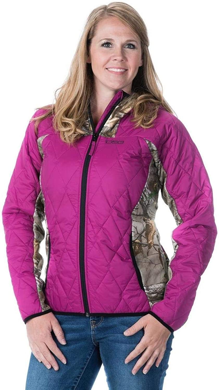 DSG Outerwear Womens Camo Fleece Jacket