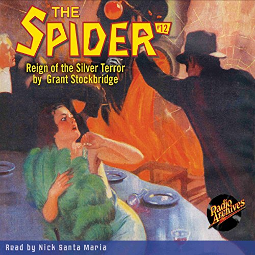 Spider #12, September 1934 (The Spider) audiobook cover art