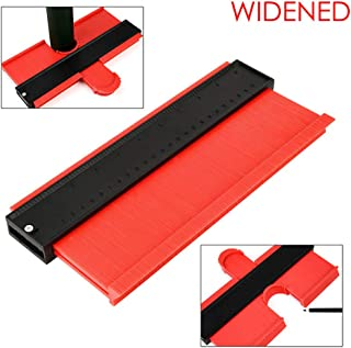 【Extended and Widened Edition】10 inch Contour Gauge tool Profile Shape Duplicator Instant Template Tool 10 Inch Irregular Outline Copy outline gauge tool contour shape duplicator