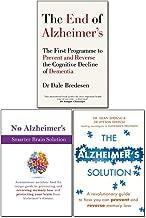 End of Alzheimer's, The Alzheimer's Solution and No Alzheimer's Smarter Brain Keto Solution 3 Books Collection Set
