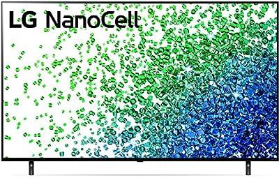 "LG 50NANO80UPA Alexa Built-in NanoCell 80 Series 50"" 4K Smart UHD NanoCell TV (2021)"
