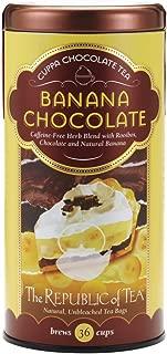 The Republic of Tea Banana Cuppa Chocolate Tea Bags, 36 Tea Bags