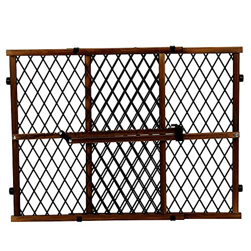 Wood Pressure Mounted Safety Gate Durable and Easy to Clean No Tools Required & Durable - Skroutz Deals