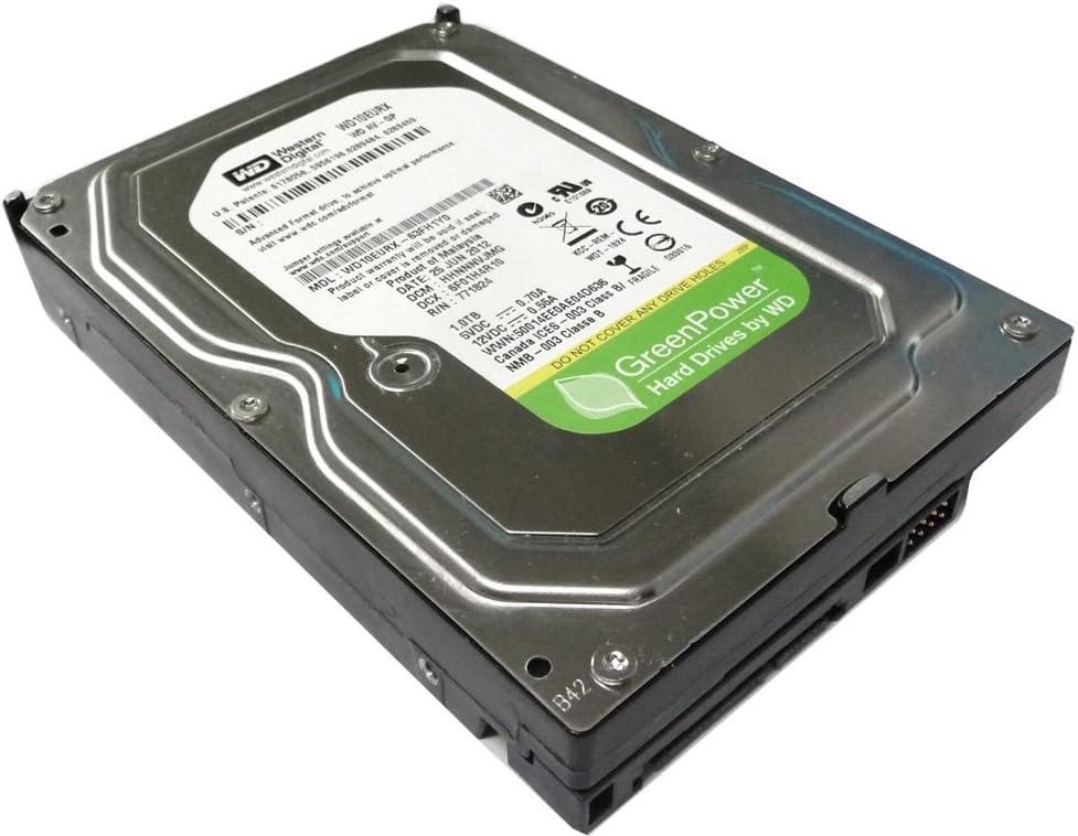 Western Digital AV-GP WD10EURX 1TB IntelliPower 64MB Cache SATA 6Gb/s 3.5in Internal Hard Drive - 2 Years Warranty