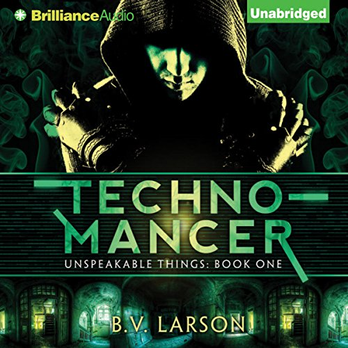 Technomancer audiobook cover art