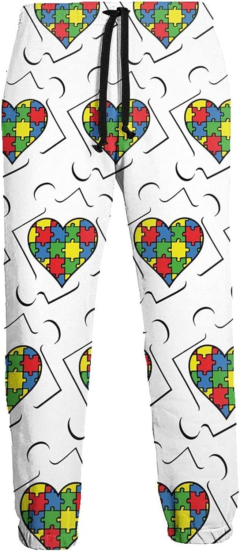 Active Sweats Jogger Pants Autism Awareness Colorful Running Joggers Casual Sweatpants for Men Women
