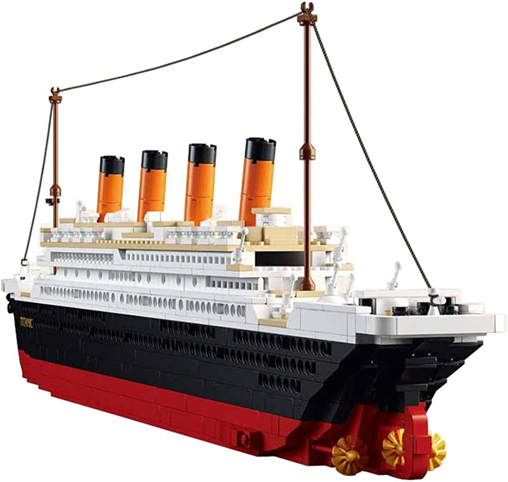 Susengo kit di costruzioni titanic 1021 pezzi SG0577