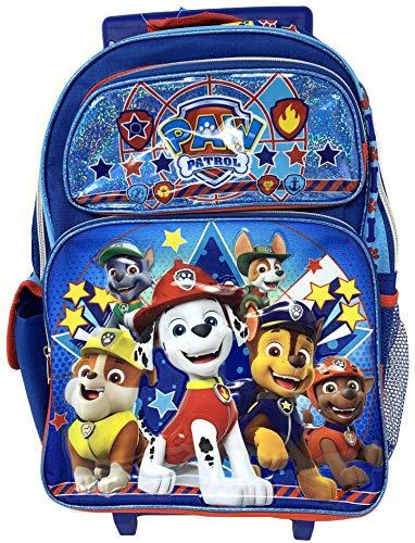 Nickelodeon New Paw Patrol 16' Rolling School Backpack- 18126