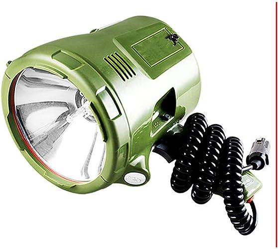 XWCPDM Réflecteur Marin 220W, Projecteur Caché 160W, Lampe Xénon 100V, Projecteur Portable 35W   55W   65W   75W, Adapté Aux Voitures, à La Chasse, Au Camping, Aux Bateaux, (Taille   75W)