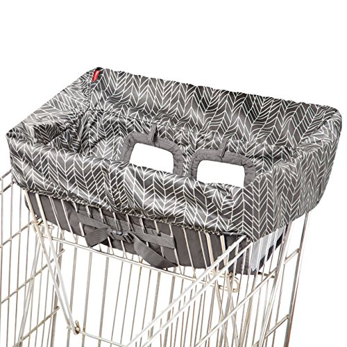 Skip Hop Shopping Cart Cover, Take Cover, Grey Feather