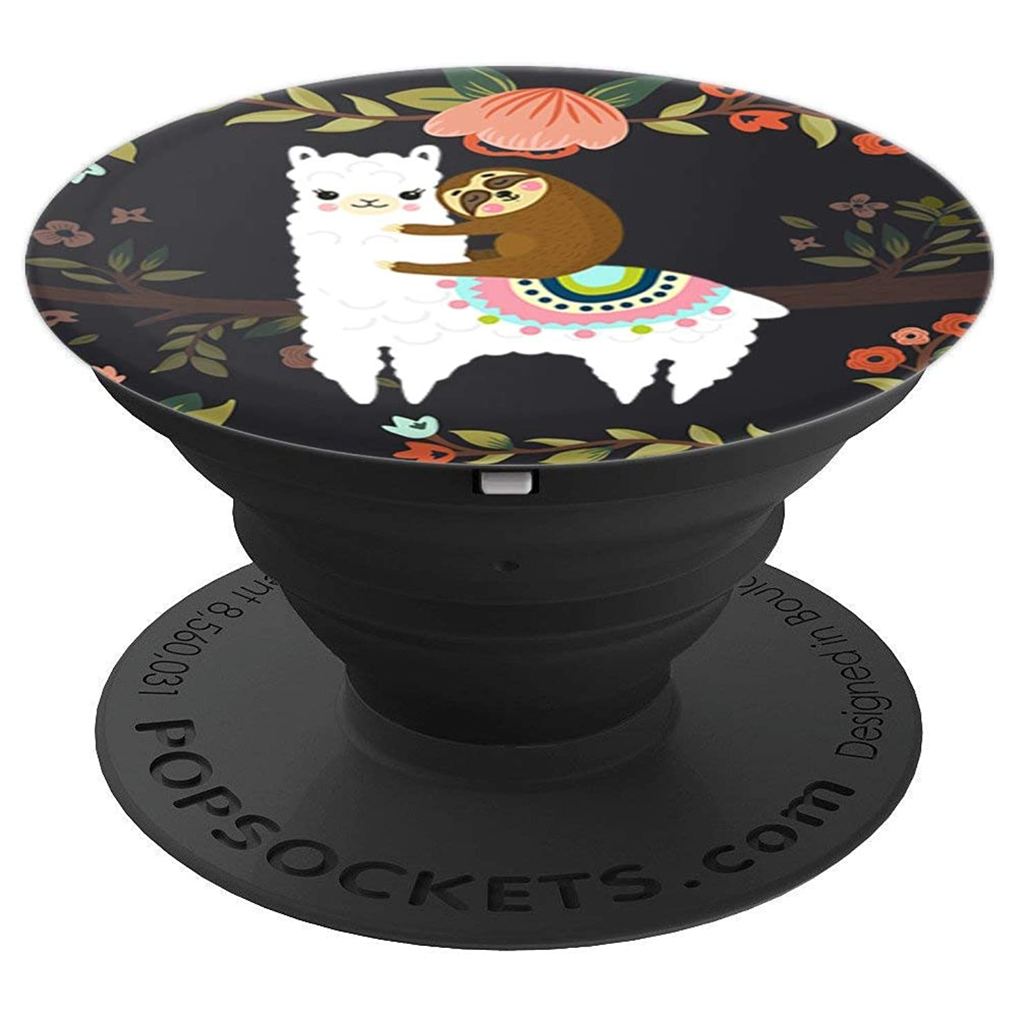 Cute Sloth llama - PopSockets Grip and Stand for Phones and Tablets