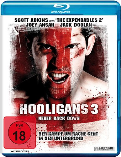 Hooligans 3-Never Back Down-Blu-Ray Disc [Import]