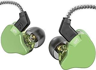 $28 » Yinyoo Ear Monitors CCZ Emerald Bass in-Ear Earphones Headphones with Microphone Wired Earbuds IEM Earphones with 1DD 1BA ...