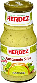 Herdez Guacamole Salsa Medium, 15.7 Ounce