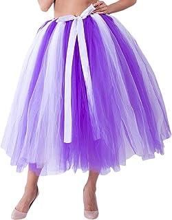 Amazon.es: falda tul mujer - Morado / Faldas / Mujer: Ropa
