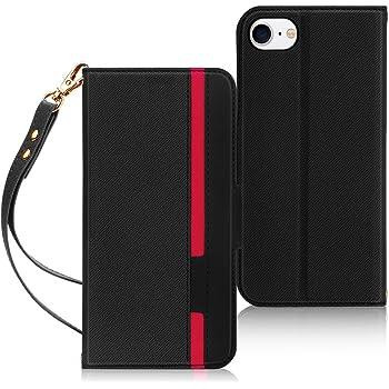 iPhone SE ケース 第2世代 iPhone8 ケース iPhone7ケース FYY 薄型 軽量 ハンドメイド PUレザー 手帳型 スマホケース カードポケット付き スタンド機能付き マグネット式 耐衝撃 iPhone SE 第2世代 (2020年モデル) / iPhone8 / iPhone7 4.7インチ対応