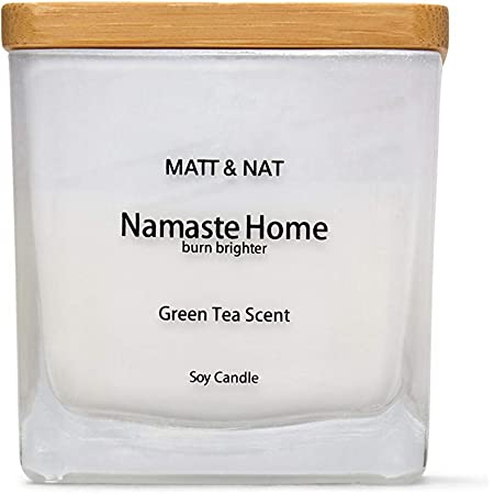 Set of 2 Scented Candles  Namaste /& Zen    NEW