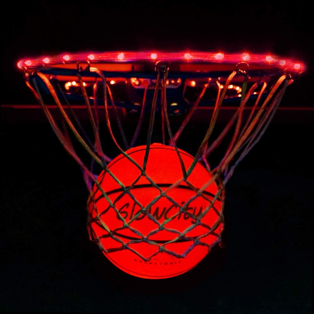 GlowCity Light Up LED Rim Kit safety with Ranking TOP16 Included Basketball